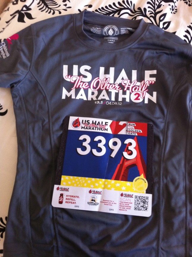 "US Half Marathon ""The Other Half"" Women's Shirt"