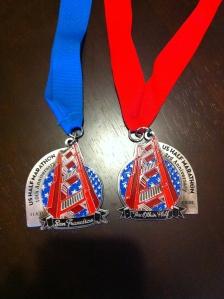 US Half Marathon Medals
