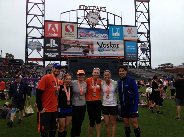 The Giant Race Half Marathon Finishers
