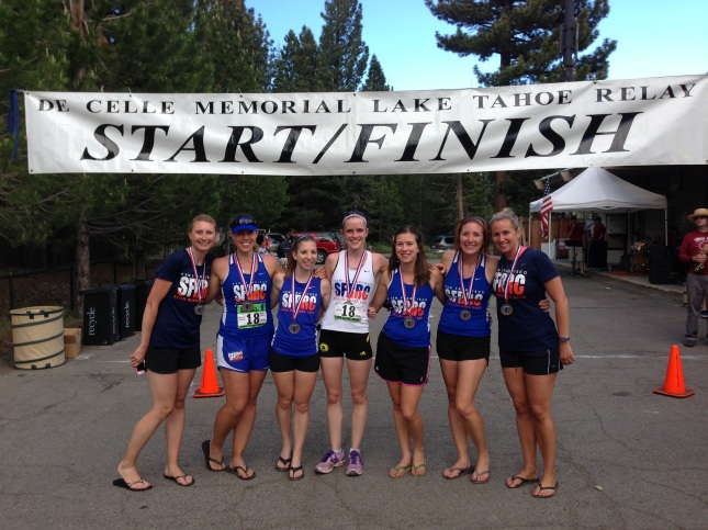 Lake Tahoe Relay